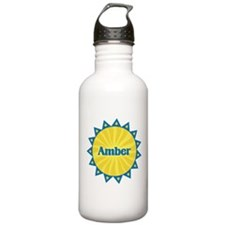 Amber Sunburst Water Bottle