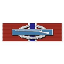 CIB Bronze Star Bumper Sticker