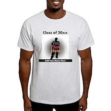 Custom Class of Graduation Photo/Name T-Shirt