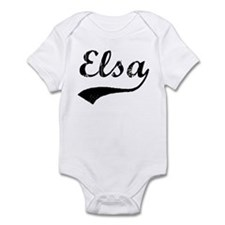 Vintage: Elsa Infant Bodysuit