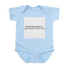 Atheist's do it Infant Bodysuit