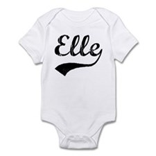 Vintage: Elle Infant Bodysuit