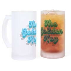Mardi Gras Sugar Skull Shot Glass