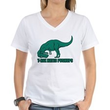T-rex Hares Pushups Shirt