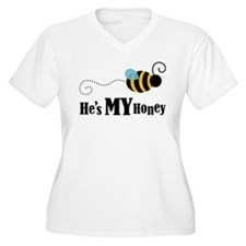 He's My Honey Matching T-Shirt