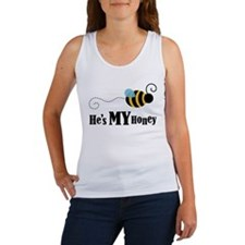 He's My Honey Matching Women's Tank Top