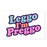 Leggo I'm Preggo Postcards (Package of 8)
