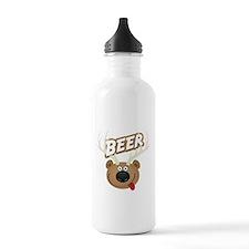 The Bear Deer Beer Water Bottle