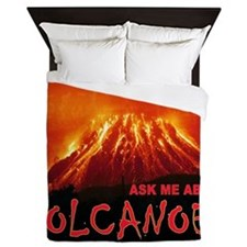 VOLCANOES Queen Duvet