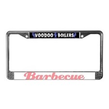 Barbecue License Plate Frame