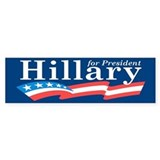 Hillary 2016 Car Sticker