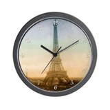 The Eiffel Tower Wall Clock