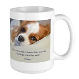 Cavalier King Charles Spaniel in Heaven Coffee Mug
