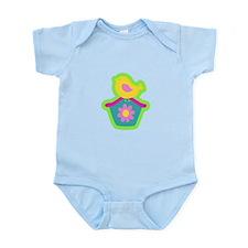 Birdie on a House Infant Bodysuit