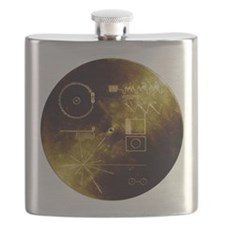 Voyager's Gold Record Flask