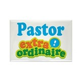 Pastor Extraordinaire Rectangle Magnet