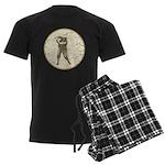 Golfer Men's Dark Pajamas