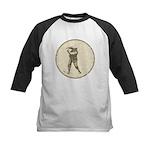 Golfer Kids Baseball Jersey