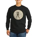 Golfer Long Sleeve Dark T-Shirt