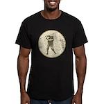 Golfer Men's Fitted T-Shirt (dark)