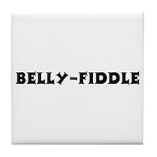 Belly-Fiddle Tile Coaster