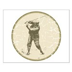 Golfer Small Poster