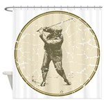 Golfer Shower Curtain