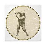 Golfer Queen Duvet