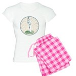 Tennis Player, Vintage Women's Light Pajamas