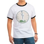 Tennis Player, Vintage Ringer T