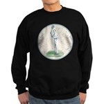 Tennis Player, Vintage Sweatshirt (dark)