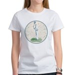 Tennis Player, Vintage Women's T-Shirt