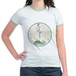 Tennis Player, Vintage Jr. Ringer T-Shirt