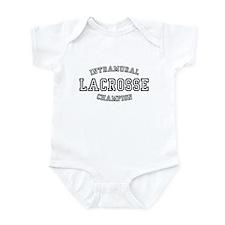 INTRAMURAL LACROSSE CHAMPION  Infant Bodysuit