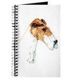Wire Fox Terrier Art Journal