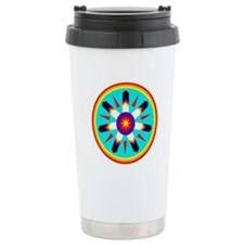 EAGLE FEATHER MEDALLION Ceramic Travel Mug