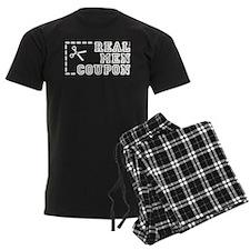 REAL MEN COUPON Pajamas