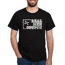 REAL MEN COUPON T-Shirt