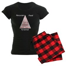 Peruvian Food Pyramid Pajamas