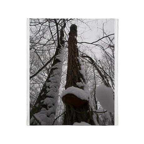 Snowy Kings Throw Blanket