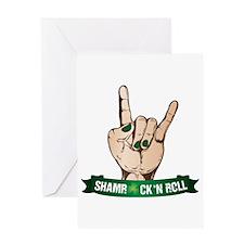 ShamRock 'N Roll Greeting Card