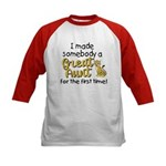 great aunt.png Kids Baseball Jersey