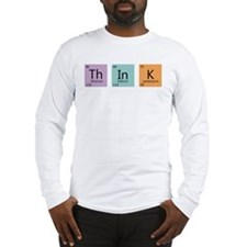 Periodic Chart Think Long Sleeve T-Shirt
