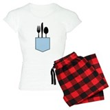 Silverware Shirt Pocket pajamas