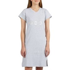 Eat, Sleep, Drum Women's Nightshirt