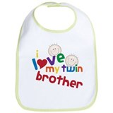 Twin Brother Bib