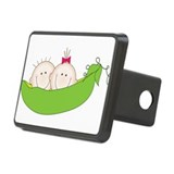 Peas In A Pod Rectangular Hitch Cover