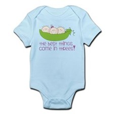 Come In Threes Infant Bodysuit