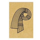 inanna-knot_12x18.jpg Postcards (Package of 8)