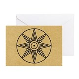 inanna-star_13-5x18.jpg Greeting Cards (Pk of 10)